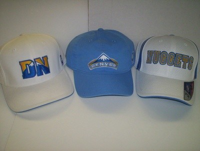Nuggets Logo Caps