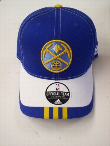 Nuggets Blue & White Logo Cap