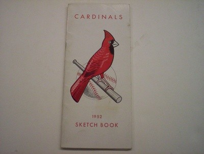 1952 CARDINALS SPRING TRAINING GUIDE