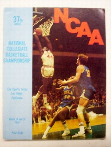 1975 NCAA Basketball Championship Program (UCLA / Kentucky)