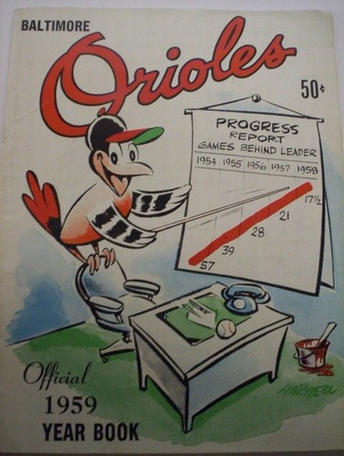 1959 BALTIMORE ORIOLES