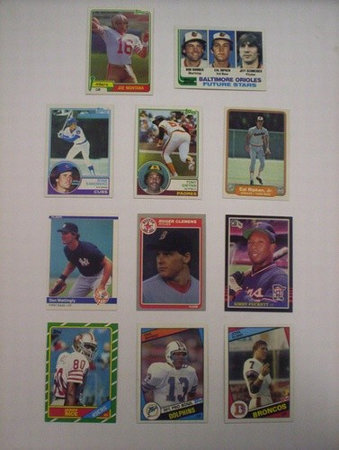 FOOTBALL & BASEBALL SET LOTS *SALE*