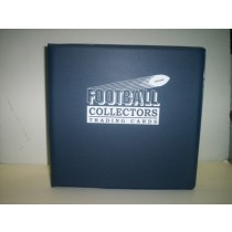ULTRA PRO CARD ALBUMS, NAVY BLUE, FOOTBALL