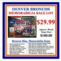 Denver Broncos Lot
