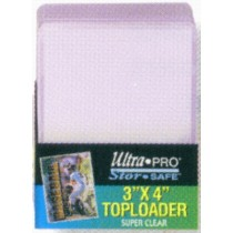 TOP LOAD CARD HOLDER (3X4 --HOLDS STANDARD SIZE CARDS) (1 PACK)