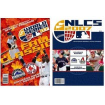 Colorado Rockies 2007 Postseason Programs (NLCS & World Series)