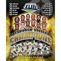 Pittsburgh Steelers Super Bowl XLIII Champions 8x10 Photo(s)