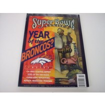Super Bowl XXXIII Program (Broncos vs. Packers)