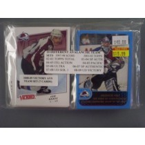 Colorado Avalanche Team Set Lot (10 Sets)
