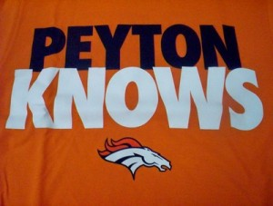 """Peyton Knows"" T-Shirt"