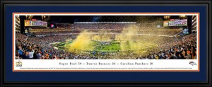 Super Bowl 50 Champions Panoramic Photograph