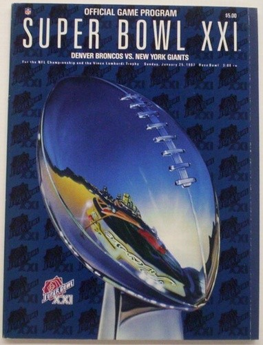 1987-SB XXI    GIANTS / BRONCOS