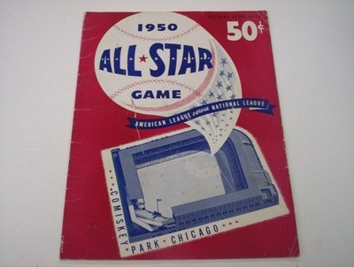 1950 CHICAGO (Scorebook)