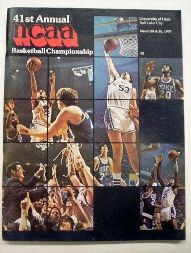 1979 NCAA Basketball Championship Program (Michigan St. / Indiana St.)