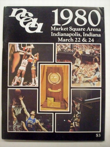 1980 NCAA Basketball Championship Program (Louisville / UCLA)