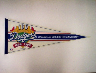1990 DODGERS 100th ANNIVERSARY