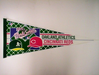 1990 WORLD SERIES (A's-vs-REDS)