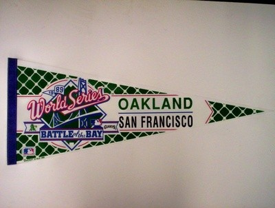 1989 BATTLE OF THE BAY (GIANTS-vs-A's)