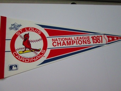 1987 NL CHAMPS CARDS
