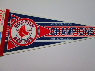 1988 AL EAST CHAMPS BO SOX