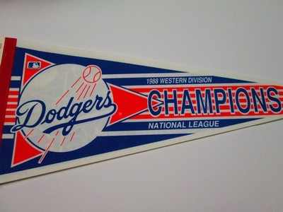 1988 NL WEST CHAMPS DODGERS