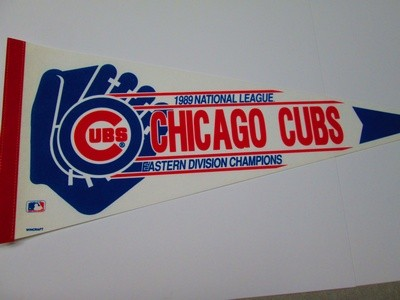 1989 NL EAST CHAMPS CUBS