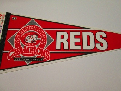 1990 NL WEST CHAMPS REDS