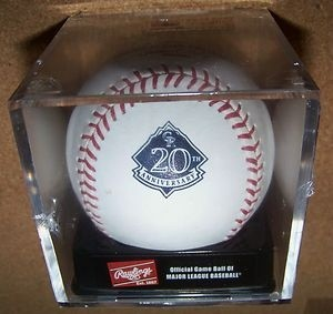 2013 Colorado Rockies 20th Anniversary Baseball
