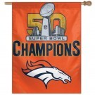 Super Bowl 50 Champions Banner