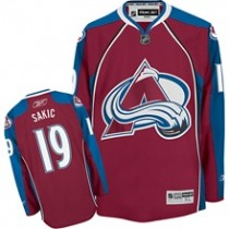 Current Authentic Avalanche Player RBK Edge Jersey
