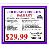 Colorado Rockies Lot