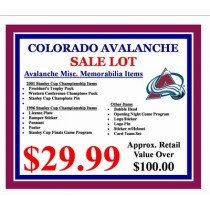 Colorado Avalanche Lot