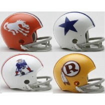 Throwback NFL Mini Helmets