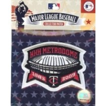 2009 Twins Metrodome Patch