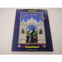 Super Bowl XXII Program (Broncos vs. Redskins)