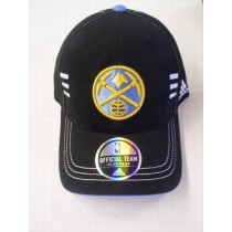 Nuggets Black Logo Cap