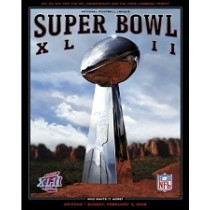 2008-SB XLII PATRIOTS / GIANTS