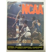 1974 NCAA Basketball Championship Program (NC. State / Marquette)