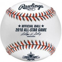 2010 All-Star Game Ball at Anaheim