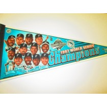 1997 WS CHAMPS MARLINS char