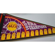2001 CHAMPS LAKERS w/jerseys