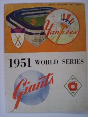 1951 YANKEES / GIANTS